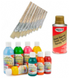Paints, Brushes and Paintable products